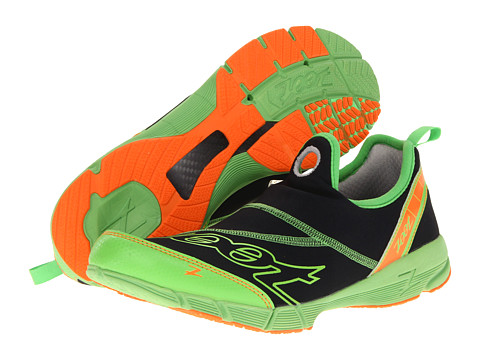 Zoot Sports - Ultra Speed 3.0 (Black/Green Flash/Blaze) Men's Running Shoes