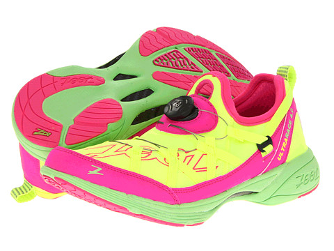 Zoot Sports - Ultra Race 4.0 (Safety Yellow/Pink Glow/Green Flash) Women's Running Shoes