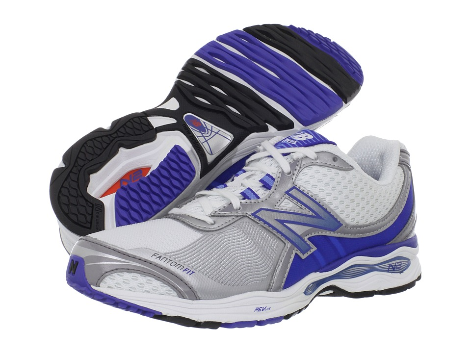 New Balance - WW1765 (White/Blue) Women's Shoes