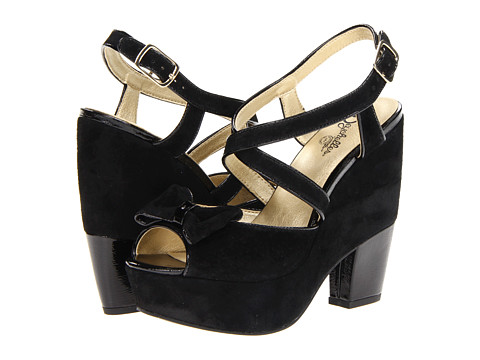 Seychelles - Late Night (Black Suede) Women's Dress Sandals