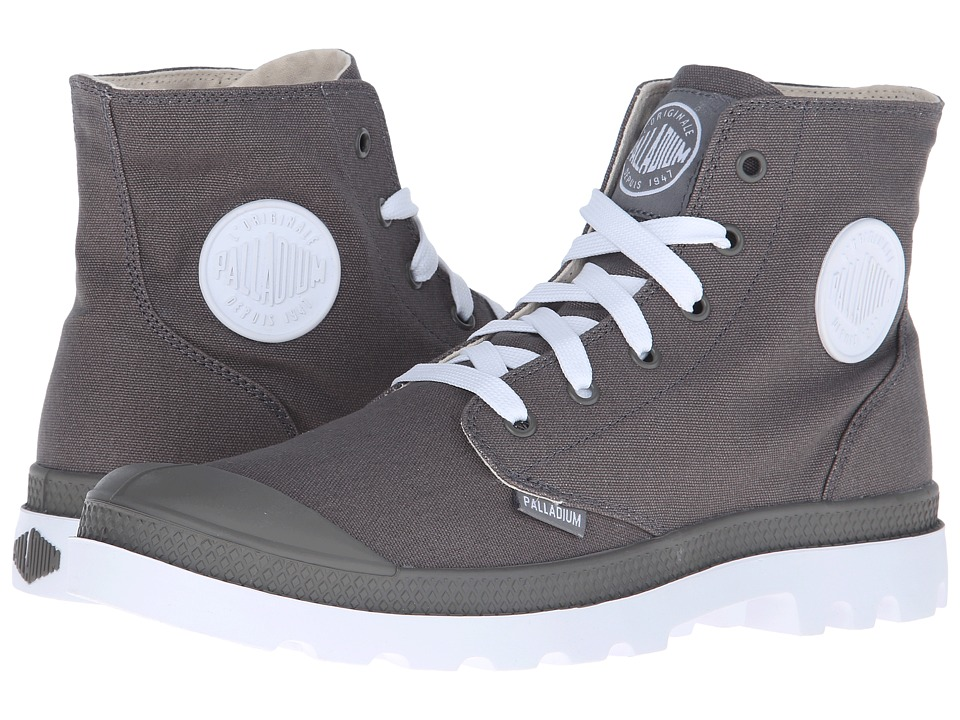 Palladium - Pampa Hi Sport (Metal/White) Lace-up Boots