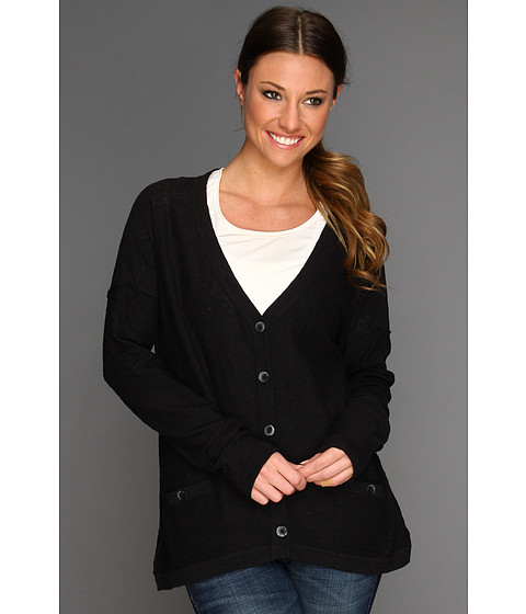 Royal Robbins - Pacific Heights Cardi (Jet Black) Women's Sweater