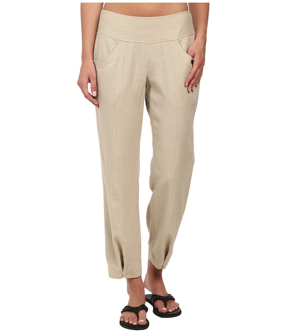 Royal Robbins - Coco Crop Pant (Light Khaki) Women