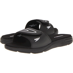 SALE! $14.99 - Save $9 on Speedo Pool Slide (Black White) Footwear - 37.54% OFF $24.00