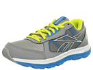 Reebok - Reebok Dual Turbo (Youth) (Tin Grey/Far Out Blue Solar Green/White - Glow)