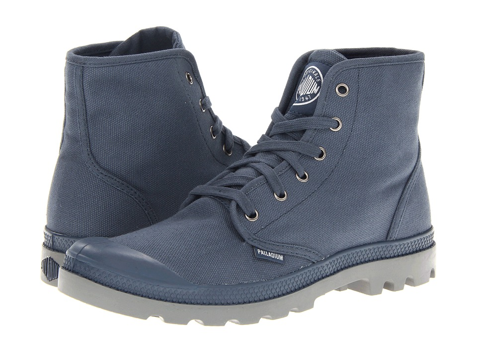 Palladium - Pampa Hi (Indigo/Metal) Men's Lace-up Boots