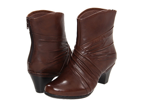 Cobb Hill - Shannon (Bark) Women's Zip Boots