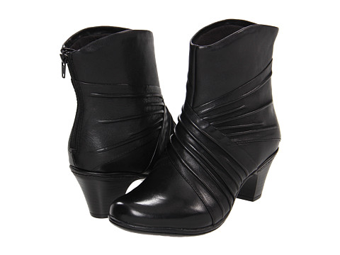 Cobb Hill - Shannon (Black) Women's Zip Boots