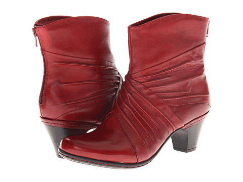 Cobb Hill Shannon (Red) Women's Zip Boots