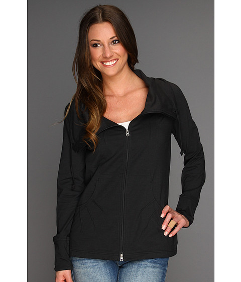 Royal Robbins - Essential Traveler Cardigan (Jet Black) Women's Sweater