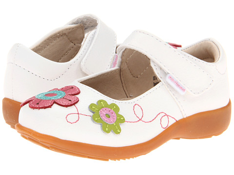 pediped - Sadie Flex (Toddler/Little Kid) (White Multi) Girls Shoes