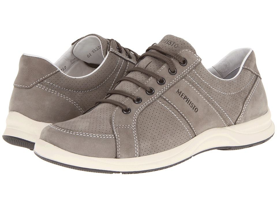 Mephisto - Hero Perf (Light Grey Perceval) Men's Lace up casual Shoes