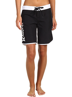 SALE! $16.99 - Save $18 on Hurley Supersuede Solid 9 Beachrider (Juniors) (Black) Apparel - 51.46% OFF $35.00