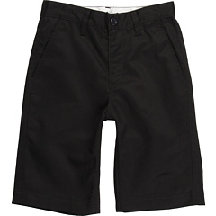 SALE! $11.99 - Save $24 on RVCA Kids Weekday Short (Big Kids) (Black) Apparel - 66.69% OFF $36.00