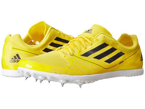 adidas Running adiZero Avanti 2 (Vivid Yellow/Black) Running Shoes