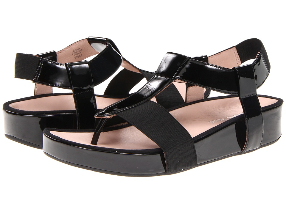 Taryn Rose Adam (Black Patent Leather) Women