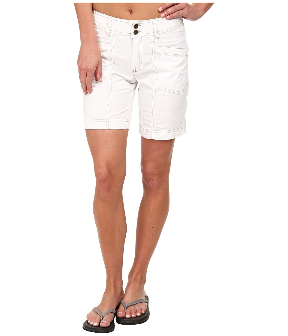 Royal Robbins - Kick It Short (White) Women's Shorts