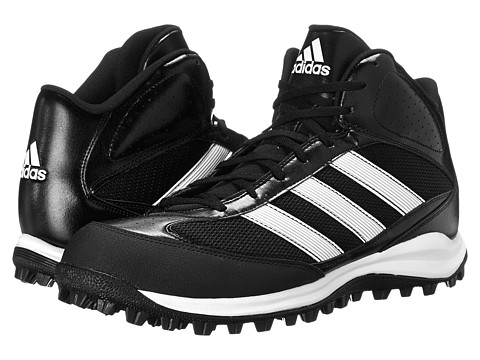 adidas - Turf Hog LX Mid (Black/Running White/Metallic Silver) Men