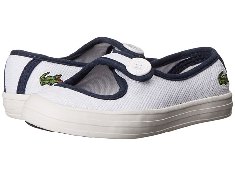 Lacoste Kids - Borelycrwb (Toddler/Little Kid) (Purple/Light Grey) Kids Shoes