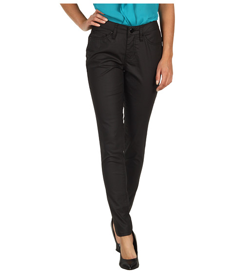 Jag Jeans - Chloe Low-Rise Skinny Pleather-ette (Black) Women