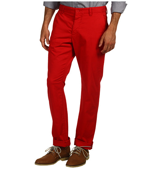 French Connection - Machine Gun Stretch Trouser (Post) Men's Casual Pants