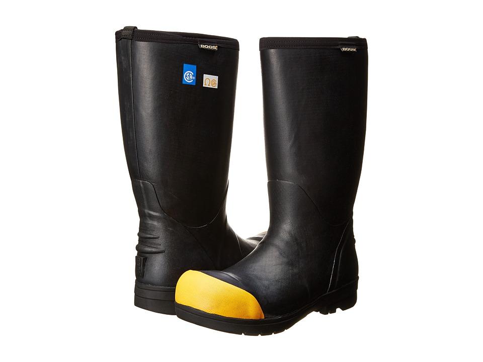 Bogs - Food Pro High Extreme Steel Toe (Black) Men's Waterproof Boots