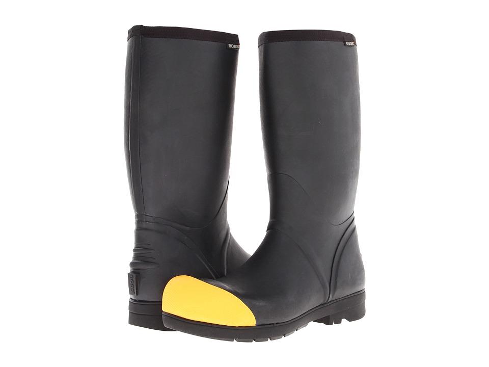 Bogs - Food Pro High Steel Toe (Black) Men's Waterproof Boots