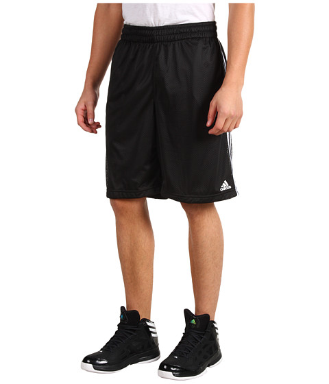 adidas - Triple Up 2.0 Short (Black/White) Men