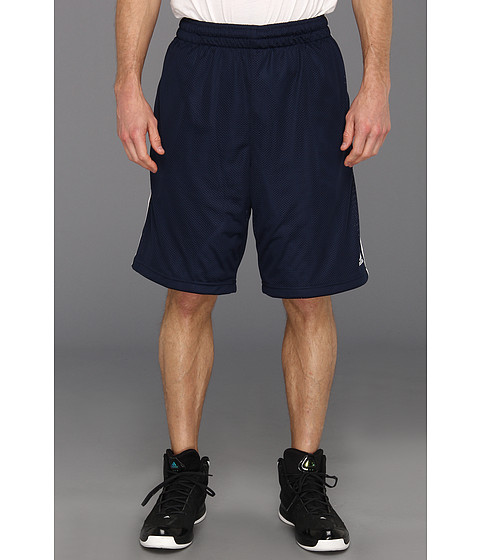 adidas - Triple Up 2.0 Short (Collegiate Navy/White) Men