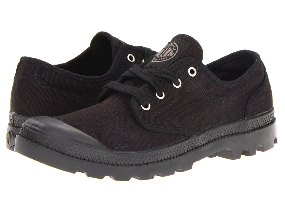 Palladium - Pampa Oxford (Black/Black) Men's Lace up casual Shoes