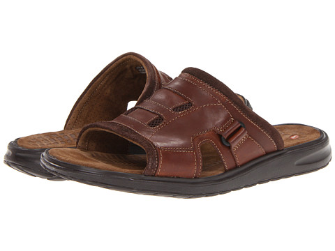 de562a02392bf5 UPC 887460061778 product image for Clarks Un.Taino (Brown Leather) Men s Slide  Shoes ...