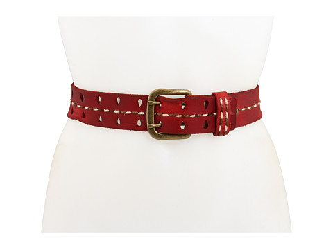 Bed Stu - Stand Up To Cancer Michelle (Red) Women's Belts