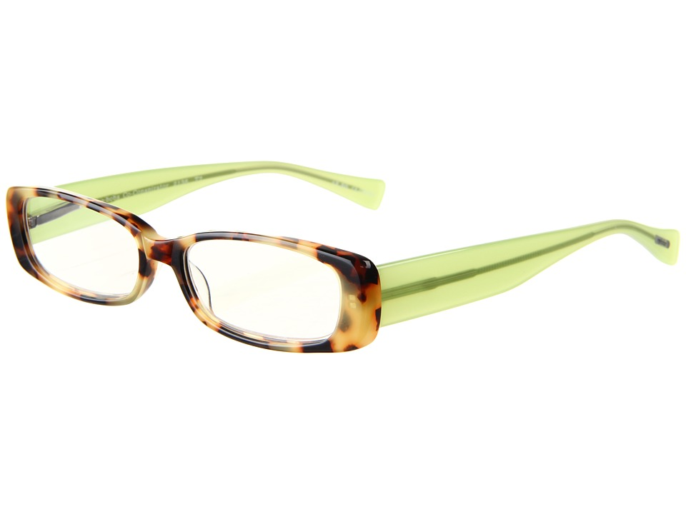 eyebobs - Co-Conspirator Readers (Tortoise/Lime Green) Reading Glasses Sunglasses