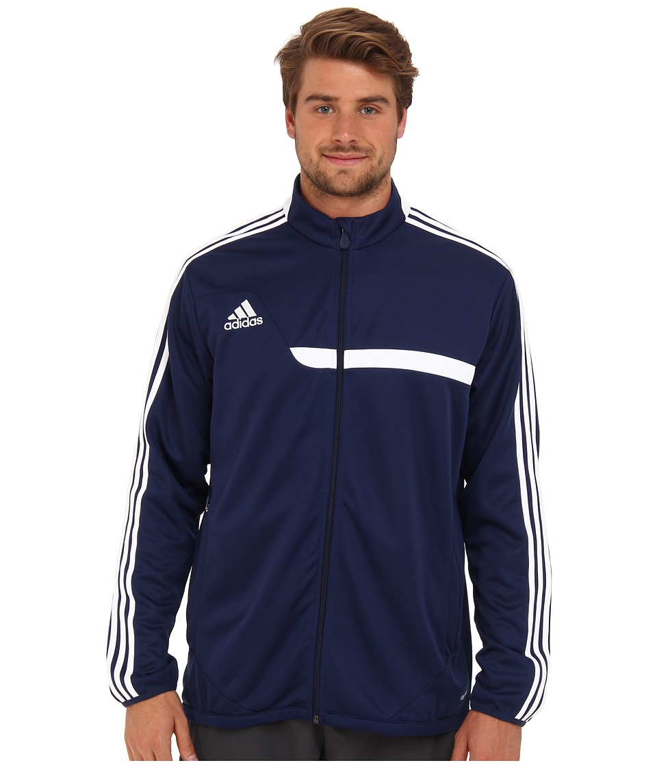 adidas - Tiro 13 Training Jacket (New Navy/White) Men's Jacket