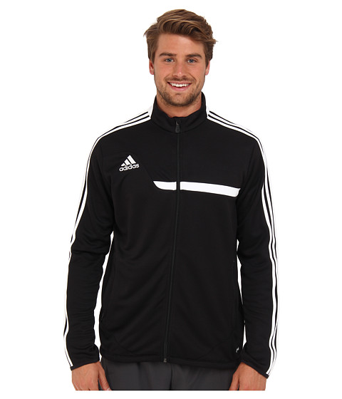 adidas - Tiro 13 Training Jacket (Black/White) Men's Jacket