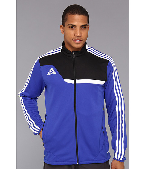 adidas - Tiro 13 Training Jacket (Cobalt/Black/White) Men's Jacket