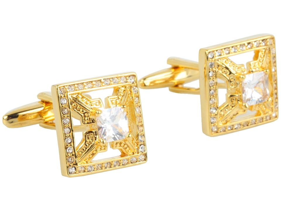 Stacy Adams - Cuff Link 13584 (Gold) Cuff Links