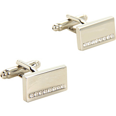 SALE! $11.99 - Save $8 on Stacy Adams Cuff Link 13334 (Silver w Crystal) Accessories - 40.05% OFF $20.00