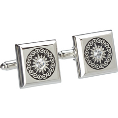 SALE! $9.99 - Save $11 on Stacy Adams Cuff Link 13970 (Silver w Jet) Accessories - 52.99% OFF $21.25