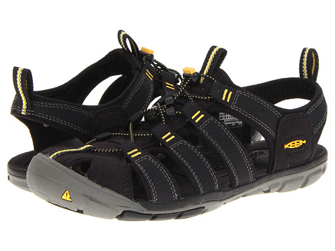 Keen - Clearwater CNX (Black/Yellow) Women's Shoes