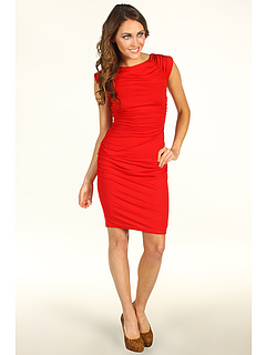 SALE! $54.99 - Save $121 on Susana Monaco Ashley Dress (Perfect Red) Apparel - 68.76% OFF $176.00