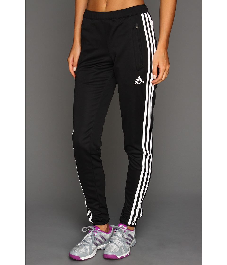 adidas - Tiro 13 Training Pant (Black/White) Women's Workout