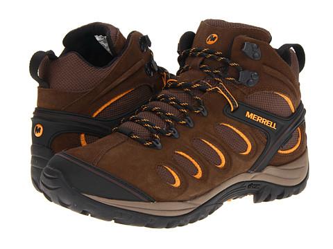 Merrell - Chameleon 5 Mid Ventilator WTPF (Black Slate) Men's Hiking Boots
