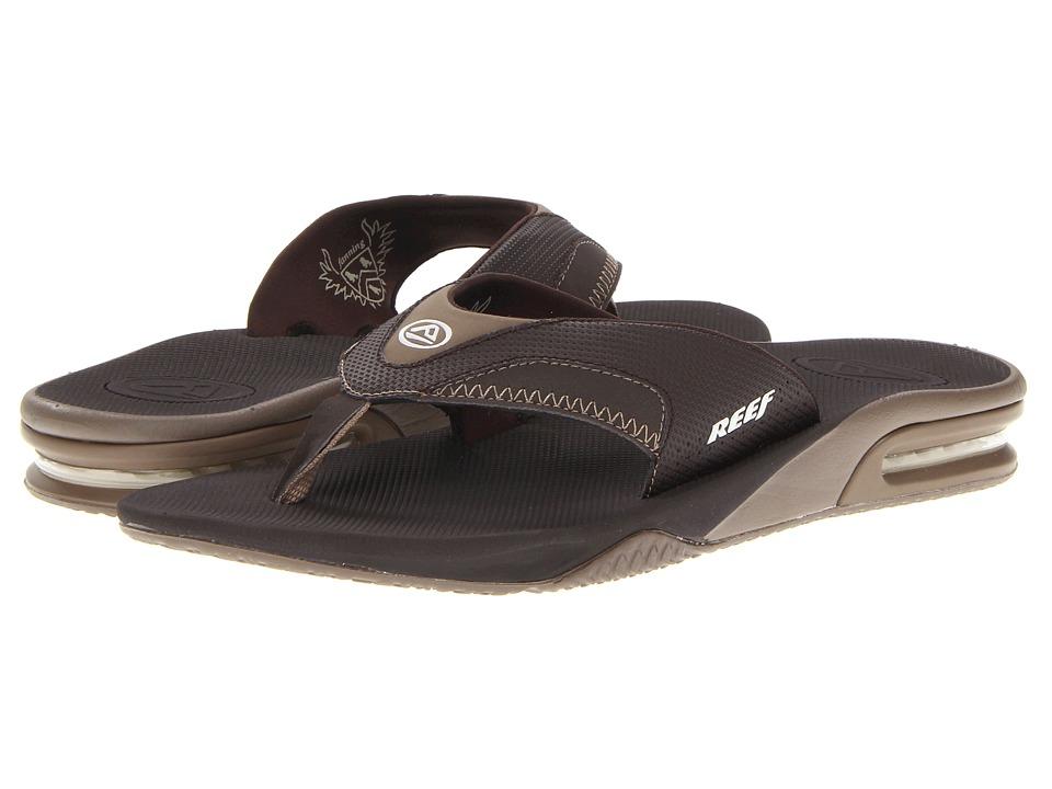 Reef - Fanning (Brown Lux) Men's Sandals