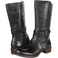 Naya Sabre (Black Leather) Footwear