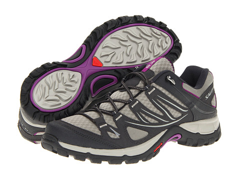 Salomon - Ellipse Aero (Dark Titanium/Asphalt/Anemone Purple) Women's Shoes