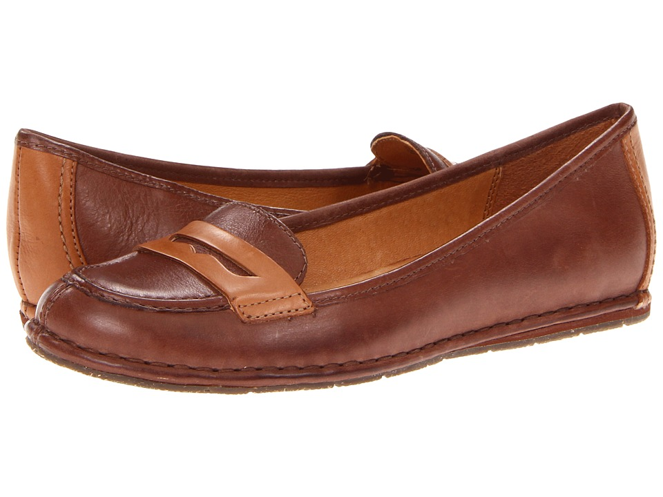 Naya - Debbie (Coffee Bean/Brandy Leather) Women