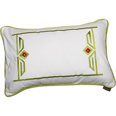 SALE! $9.99 - Save $30 on Echo Design Gramercy Paisley Breakfast Pillow (White) Home - 75.02% OFF $39.99