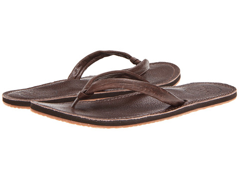Reef - Creamy Leather (Dark Brown) Women's Sandals