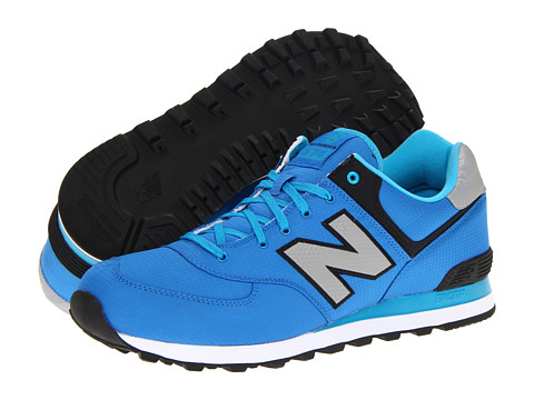 New Balance Classics - ML574 Windbreaker (Blue) Men